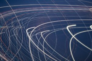 light, movement, abstract