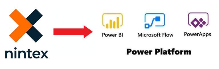 nintex to powerbi, microsoft flow, powerapps